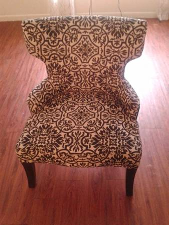 Contemporary Wingback Chair