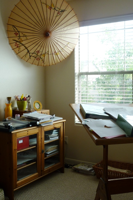 Office Nook Before 1