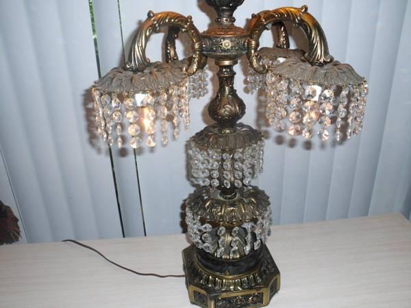 Vintage Chandelier Lamp