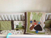 11 Frog Crib Bedding