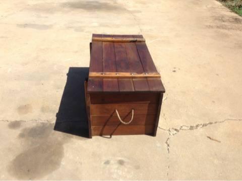 11-Vintage Cedar Chest