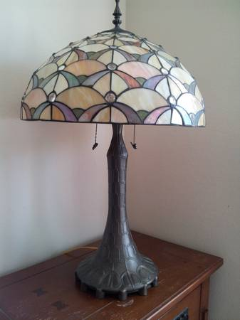15-Pair of Tiffany-Style Lamps