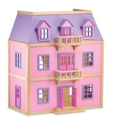 16 Melissa & Doug Wooden Dollhouse