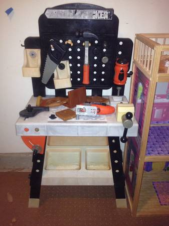 17 Black & Decker Kids Tool Bench
