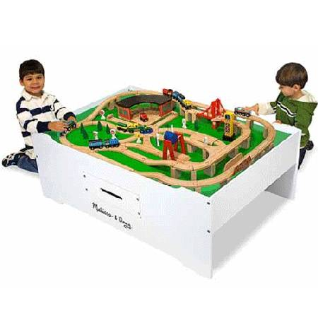 18 Melissa & Doug Train Table