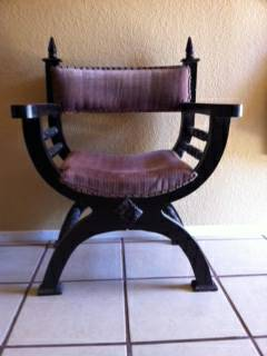 19-Spanish Colonial Armchair