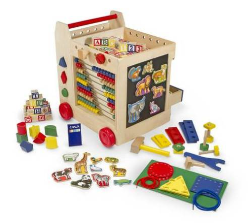 20 Melissa & Doug Activity Cart