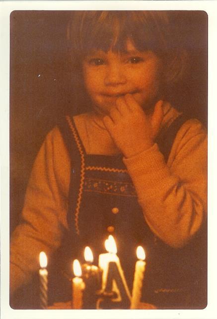 Amy at 4
