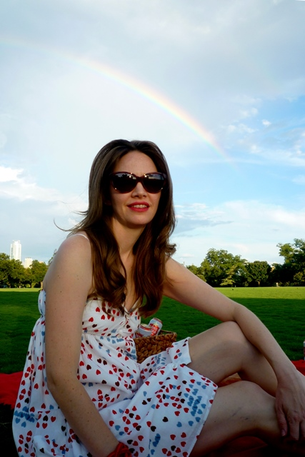 Amy & Rainbow in Zilker
