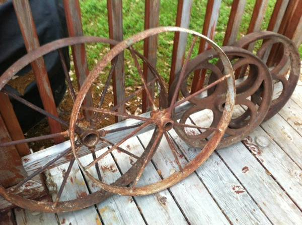 Antique Iron Wheels