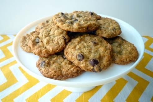 Coconut Oatmeal Chocolate Chip Cookies1