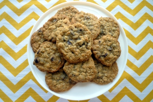 Coconut Oatmeal Chocolate Chip Cookies2