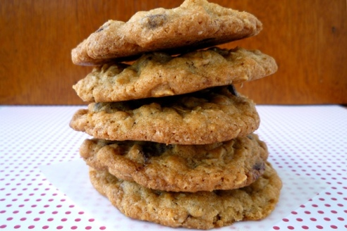 Coconut Oatmeal Chocolate Chip Cookies4