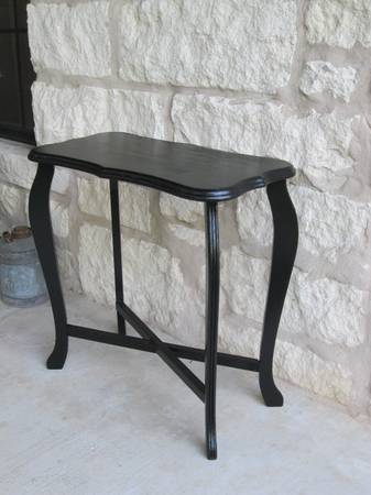 Vintage Black Side Table