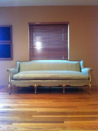 Vintage Silk French Sofa