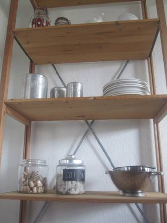 03 Wood and Steel Shelves