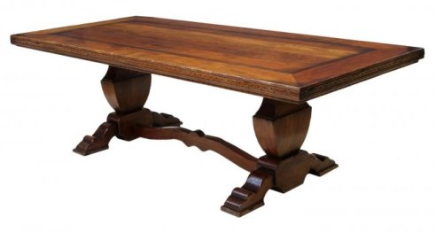 09 Large Refectory Dining Table