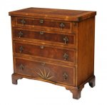 14 Antique Georgian Style Bachelor's Chest