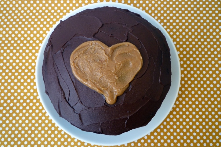 Chocolate Peanut Butter Cake 1