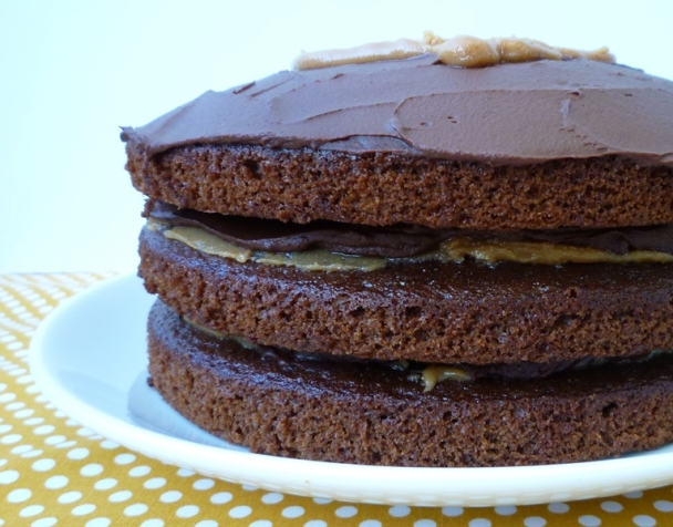 Chocolate Peanut Butter Cake 2