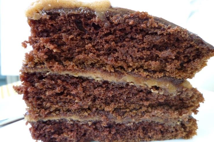 Chocolate Peanut Butter Cake 4