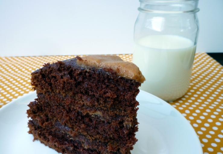 Chocolate Peanut Butter Cake 5