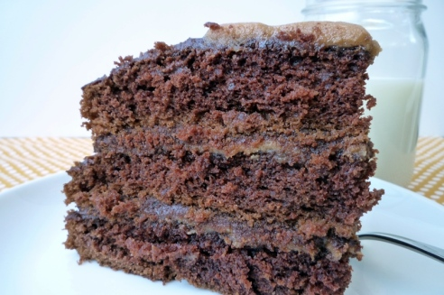 Chocolate Peanut Butter Cake 6