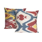 Ikat Silk Pillows