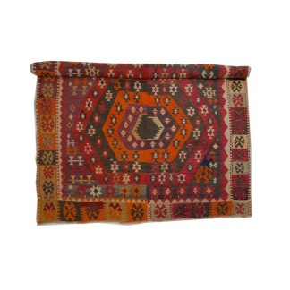 Turkish Corum Kilim Rug