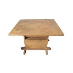 Vintage Pine Baker's Table