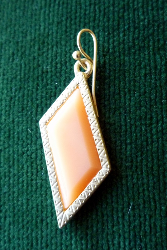Earring to Pendant Step 1