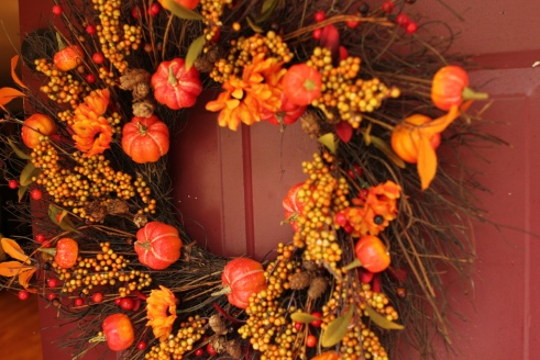 Thanksgiving Wreath by Ryan and Sarah Deeds